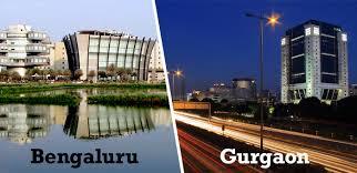 Startup cities(Bangalore vs Gurgaon)